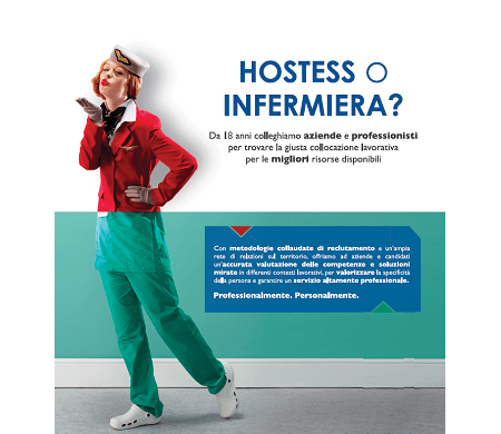 hostess infermiera